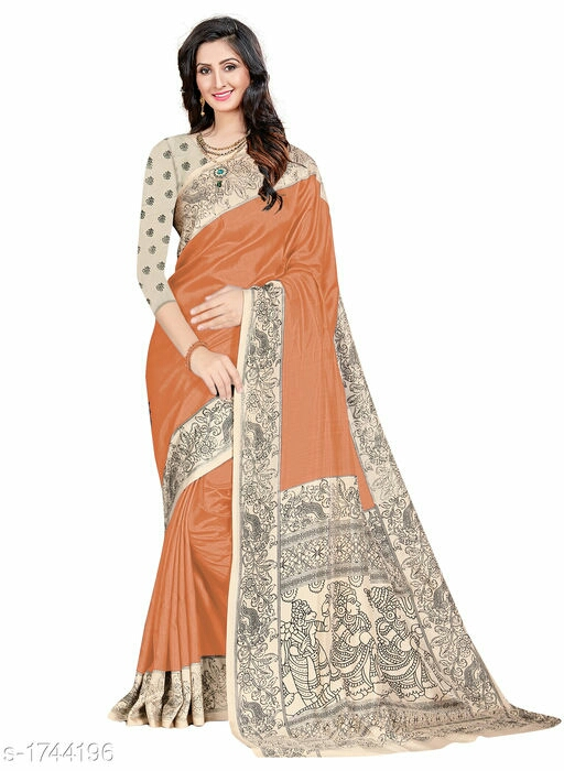 Attractive Art Silk Wome's Saree