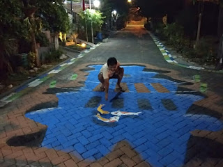 Lukisan jalan 3d