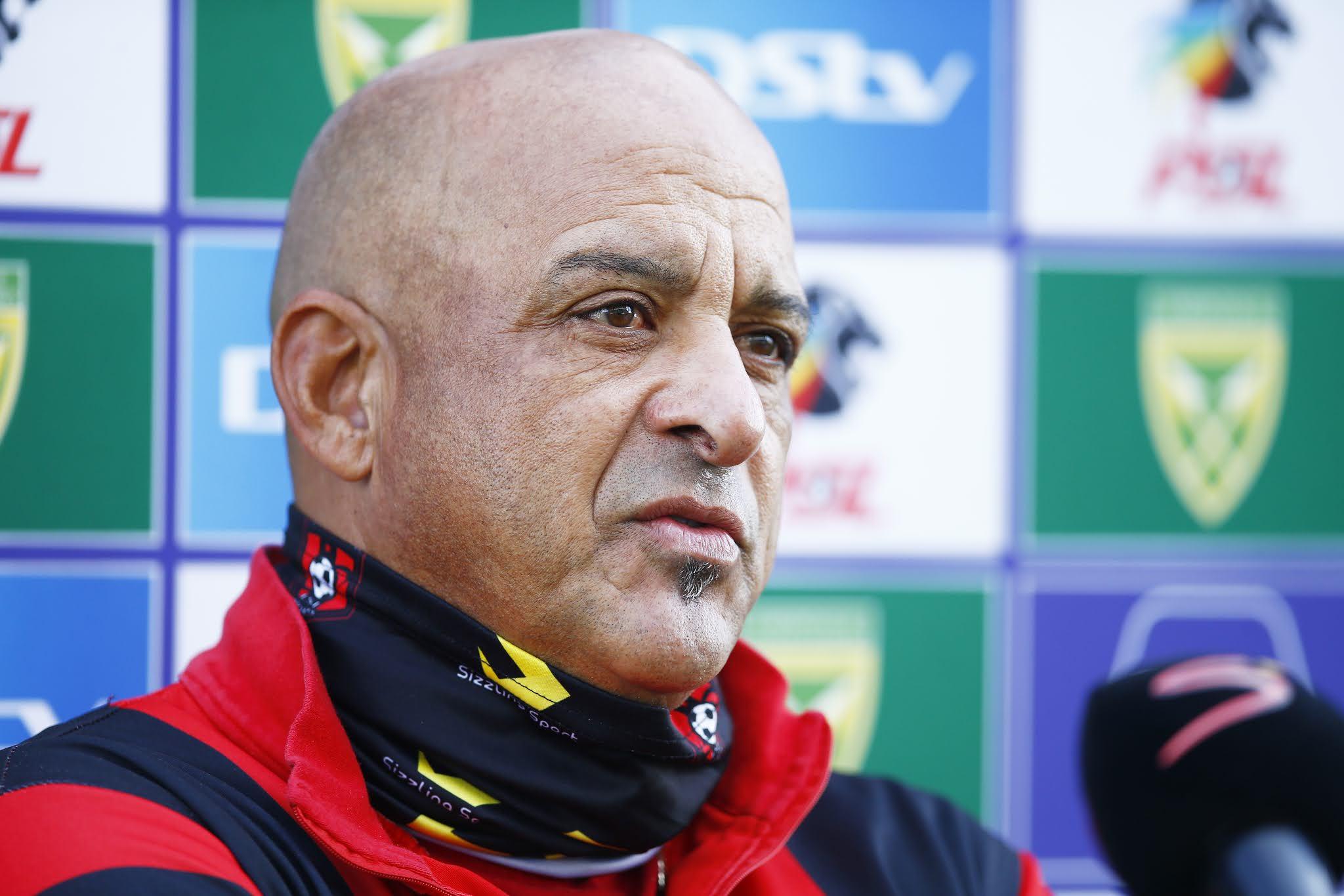 TS Galaxy coach Owen Da Gama