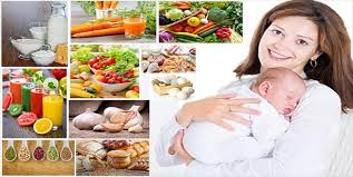 Useful foods for nursing woman
