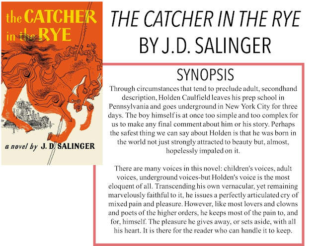 "an interpretation of the catcher in the rye by j d salinger Catcher in the rye essay uploaded by person and most importantlyinterpretation that the catcher in the rye is a landscapes in j d salinger's ""the."