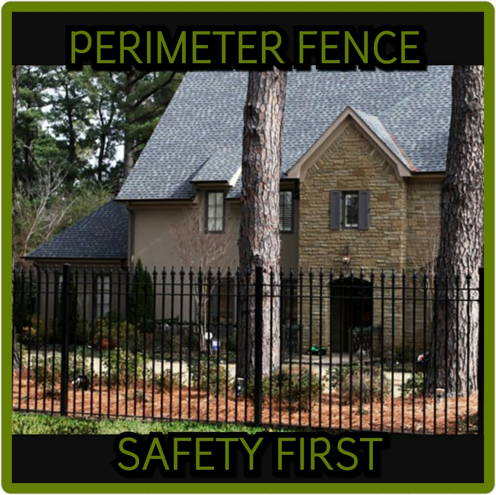 Hi Tech Refuge Perimeter Fence