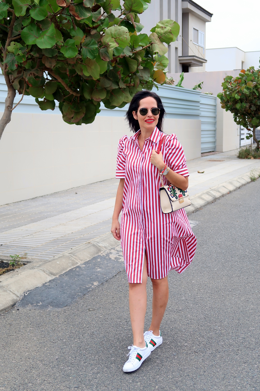 zara-striped-shirt-dress-outfit-sreetstyle