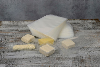 Vacuum bag for dairy products