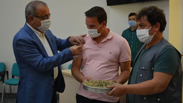 Urfa'da ilk arpa hasadı yapıldı
