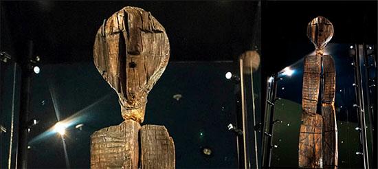 Estátua de madeira Shigir - a estátua mais antiga do mundo