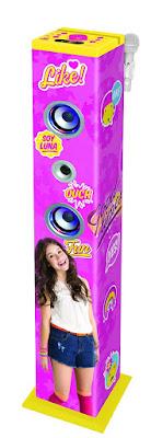TOYS : JUGUETES - DISNEY Soy Luna  Karaoke Bluetooth con altavoces luminosos  Torre de sonido | Lexibook 2016  SERIE TELEVISION DISNEY CHANNEL  Comprar en Amazon España