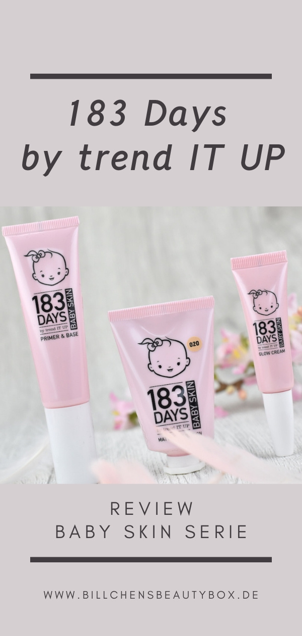 183 Days by trend IT UP Baby Skin Serie - Review und Erfahrung