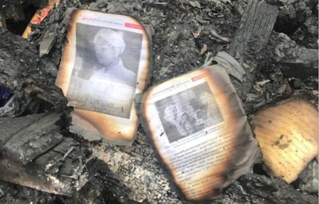 Musibah kebakaran Pesantren Darussalam Labuhan Haji