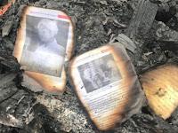 Pesantren Terbakar, Foto Almarhum Ulama Aceh Abuya Syekh H Muda Wali Tetap Utuh