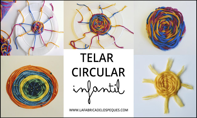 Telar circular infantil