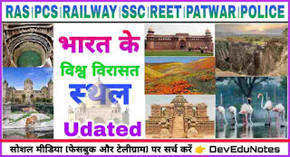 World heritage sites of india