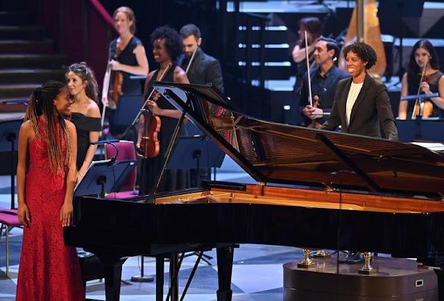 Jeneba Kanneh-Mason, Kalena Bovell, Chineke! Orchestra - BBC Proms (Photo Mark Allan)