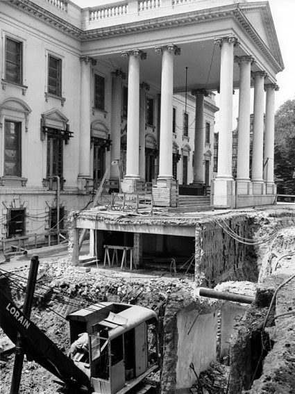 Vintage Everyday Reconstructing The White House 1948 1952