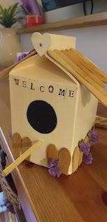 casetta uccelli fai da te riciclo cartone latte idee giardino riciclo creativo