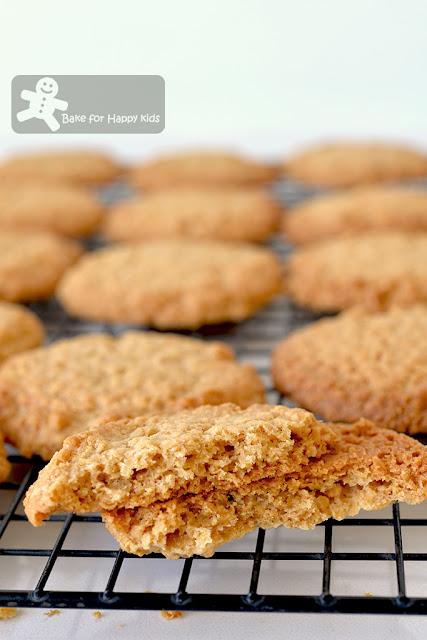 thin crispy Nestum butter cookies