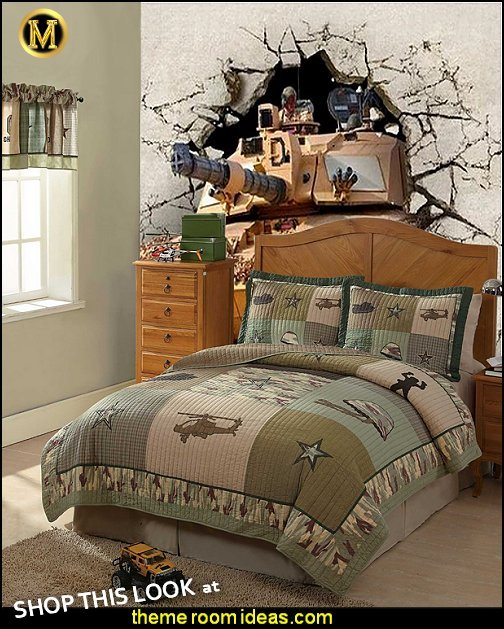 Alpha Bravo Charlie Quilt military tank wallpaper mural army bedroom decor  Alpha Bravo Charlie Quilt military tank wallpaper mural Army Theme bedrooms - Military bedrooms camouflage decorating  - Army Room Decor - Marines decor boys army rooms - Airforce Rooms - camo themed rooms - Uncle Sam Military home decor - military aircraft bedroom decorating ideas - boys army bedroom ideas - Military Soldier - Navy themed decorating