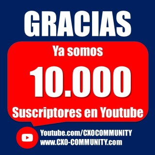 GRACIAS +10.000 SUSCRIPTORES