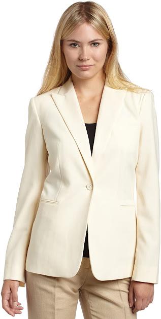Elegant Cream Blazers Jackets for Women