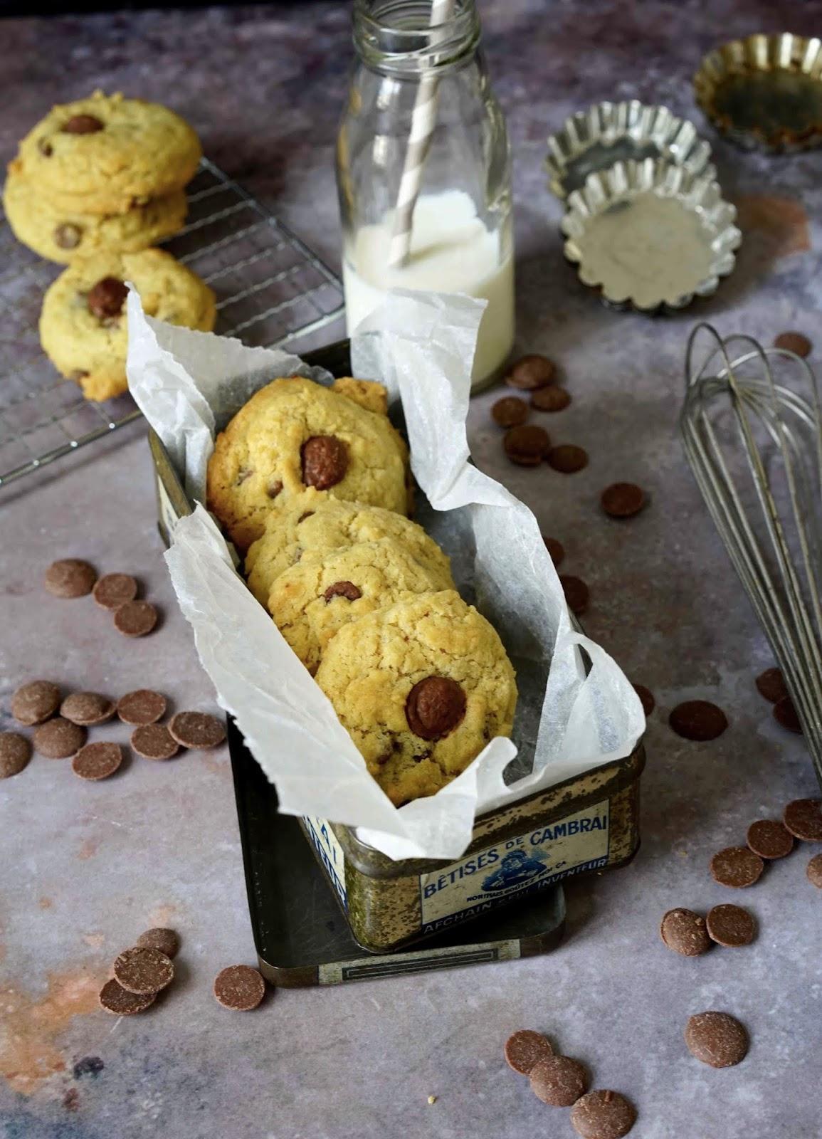beurre noisette , pepites de chocolat , cookies , goûter des enfants , gâteaux