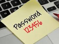 Password paling banyak dipakai di tahun 2016