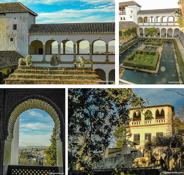 Palácio Generalife, Alhambra