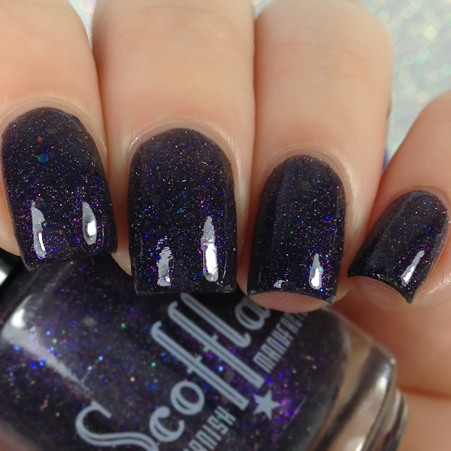 Scofflaw Nail Varnish-Love Letter To Wednesday Addams