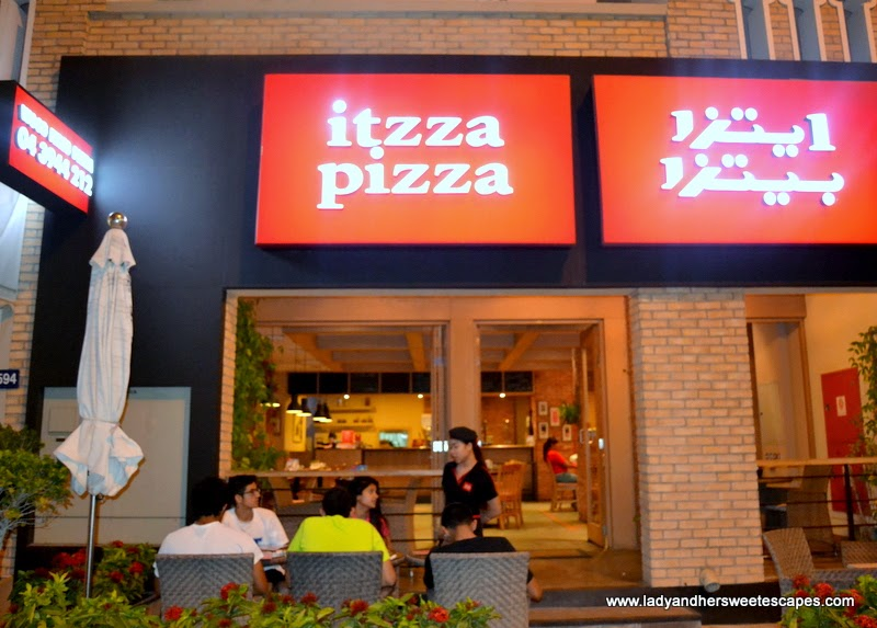 Itzza Pizza in Dubai
