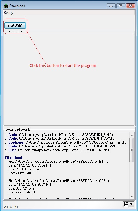 Tutorial for Samsung S3353 flash using crack software - GSM911