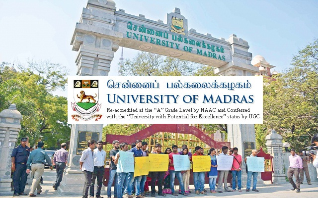 Madras University Career Recruitment 60 Guest Lecturers - Apply Now