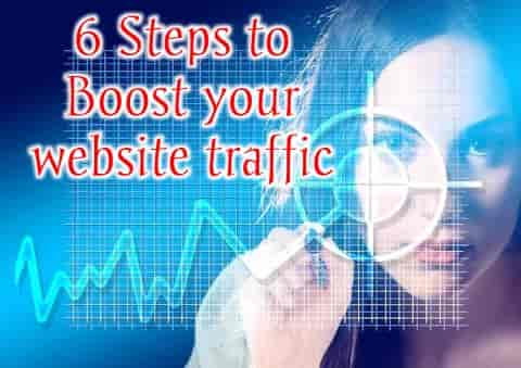How to Increase traffic on blog , Easy steps to increase blog traffic