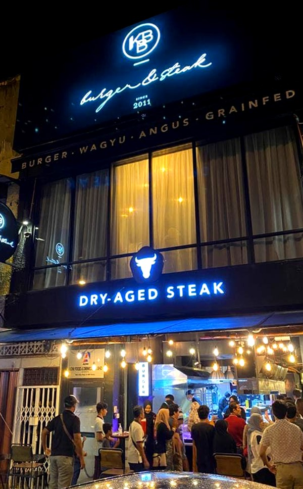 Kedai Makan steak sedap di Kelantan