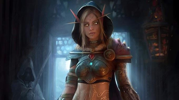 Papel De Parede Blood Elf