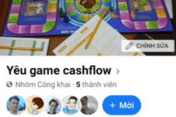 Nhóm Game cashflow Việt Nam