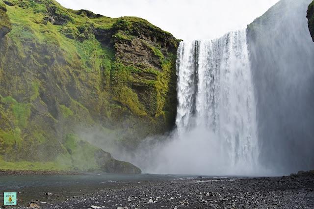 Skogafoss en el sur de Islandia