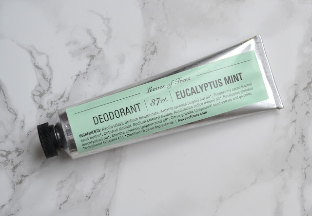 Leaves of Trees Eucalyptus Mint Deodorant