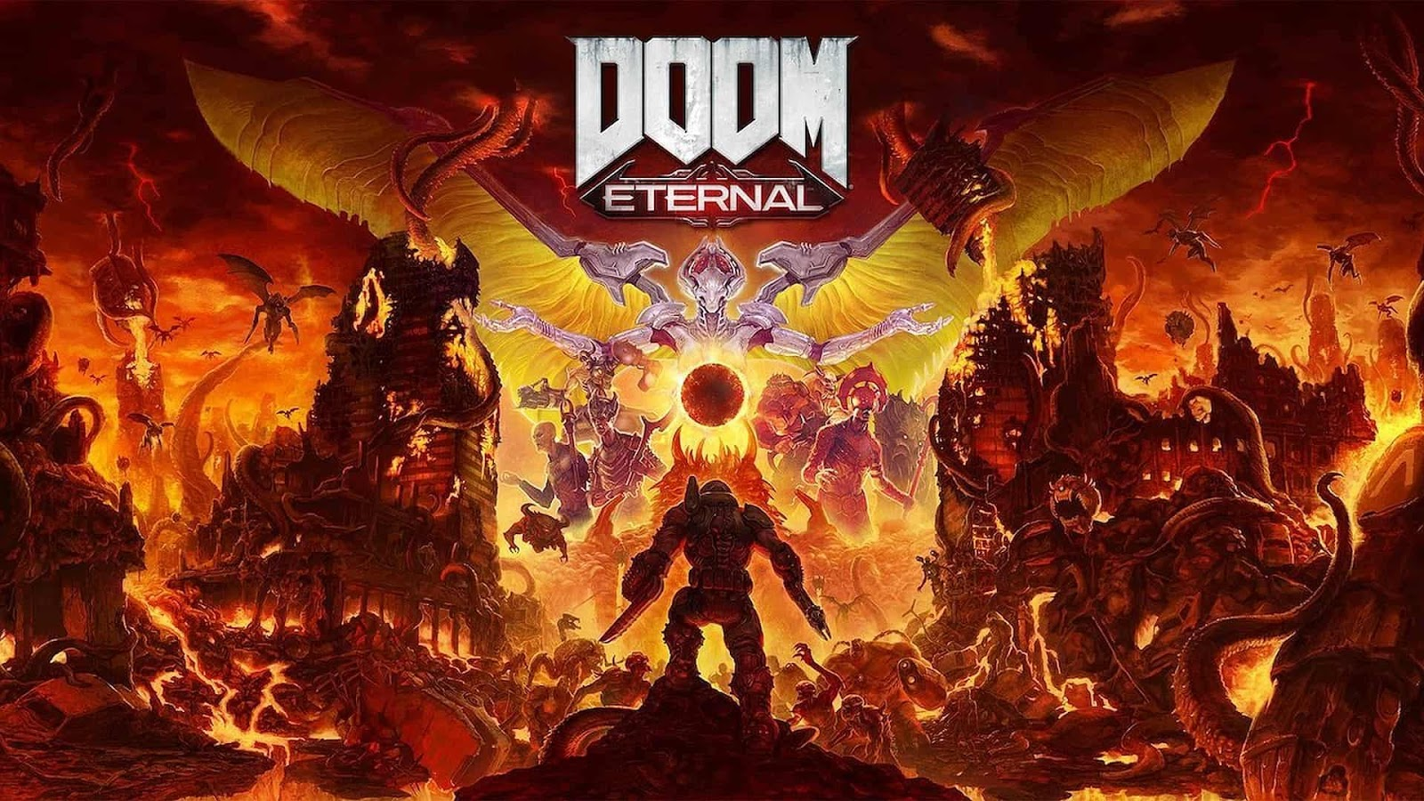 مراجعة DOOM Eternal  الشياطين و الفوضي