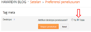 Cara Tebaru Memasang Meta Description Pada Blogger