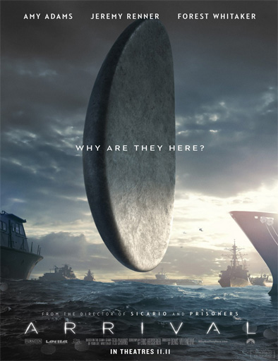 Ver La llegada (Arrival) (2016) Online