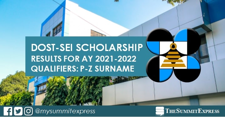 P-Z list of passers: DOST Scholarship Result 2021