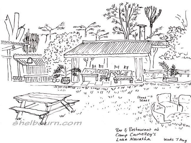 Radio Cartoonist: Kenya Sketchbook 1