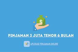 Cara Melakukan Pinjaman 3 Juta Tenor 6 Bulan Terbaru 2021