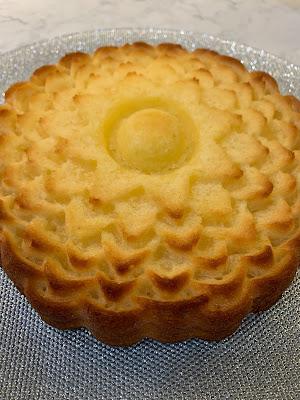 Gluten Free Lemon Pound Cake no icing