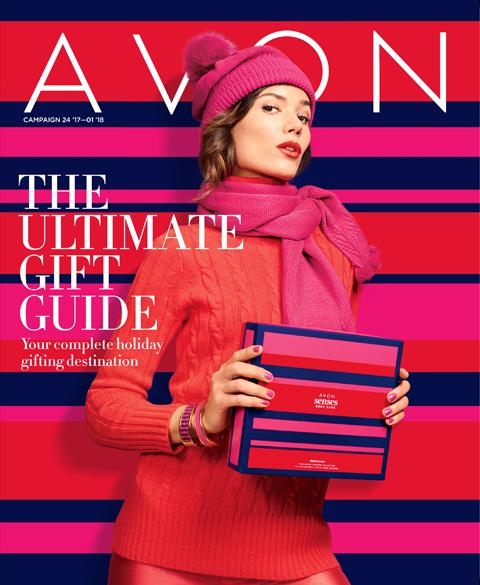 Avon holiday brochure #ad