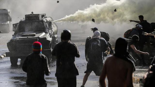 Protestan en Chile contra las políticas socioeconómicas de Piñera