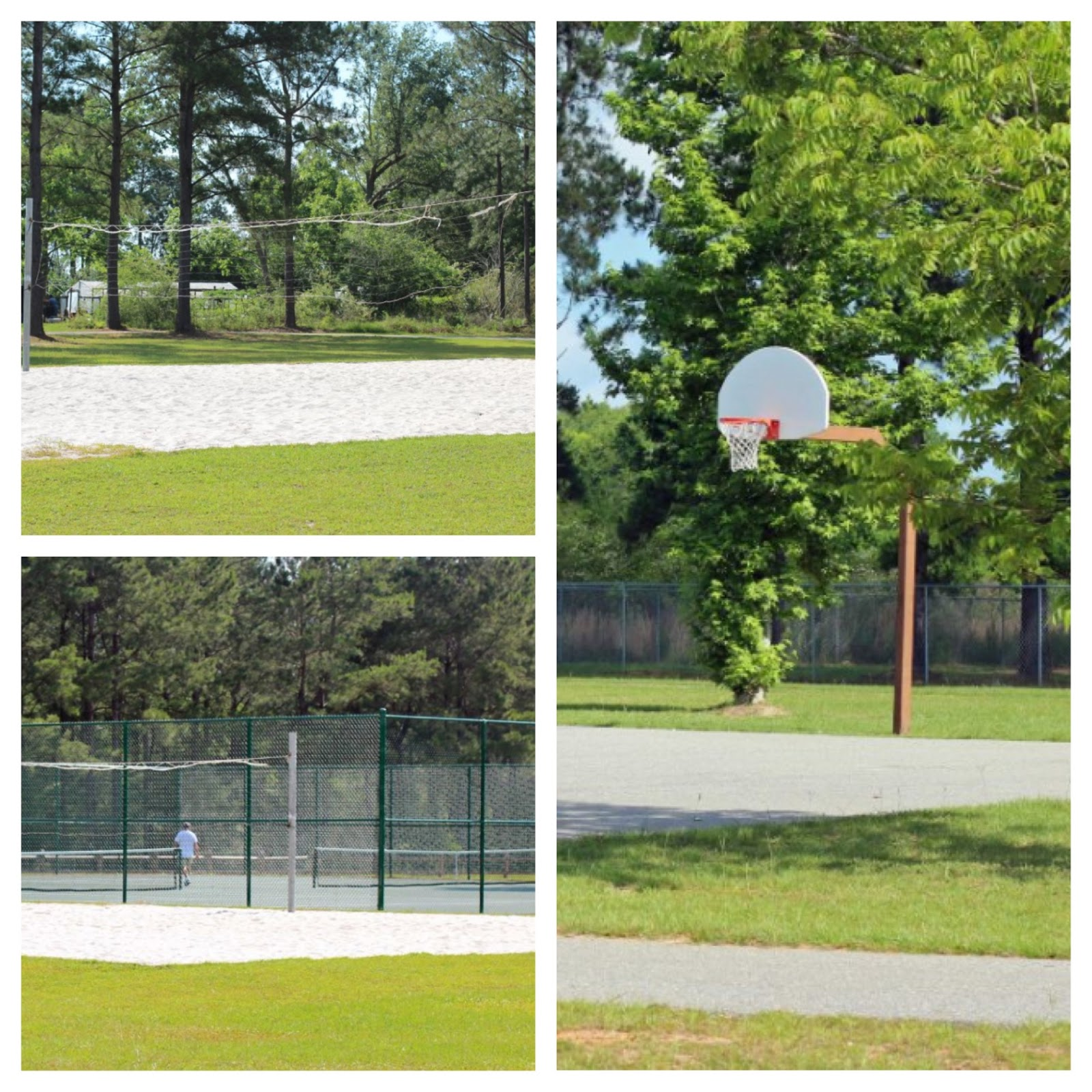 Warriors Path State Park Basketball Court: Love To Live In Pensacola, Florida: Beulah Community Park