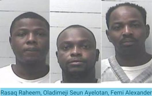 3 Nigerians jailed 235 Years for Internet Dating Scam in US