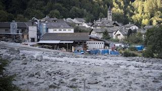 8 missing in Switzerland landslide