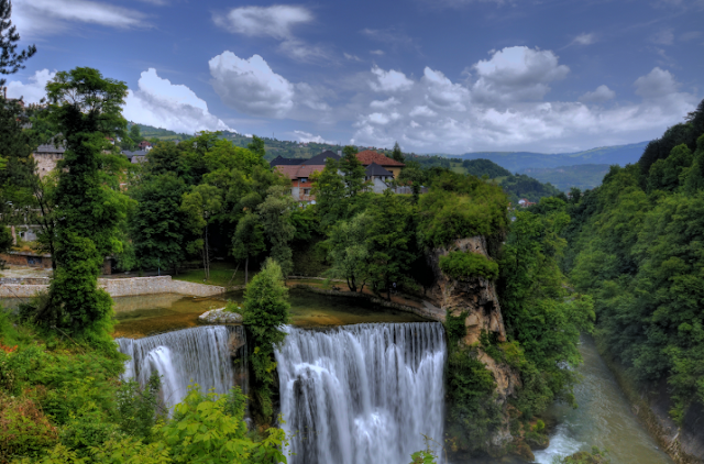Jajce Nature Waterfalls Rivers, Bosnia and Herzegovina