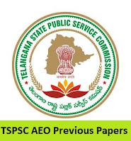 TSPSC AEO Previous Papers
